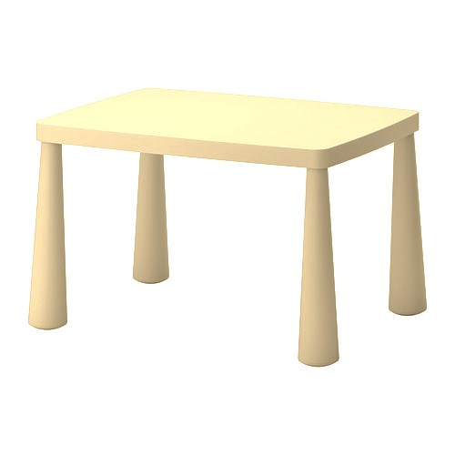 Table rectangulaire en plastique enfant Image
