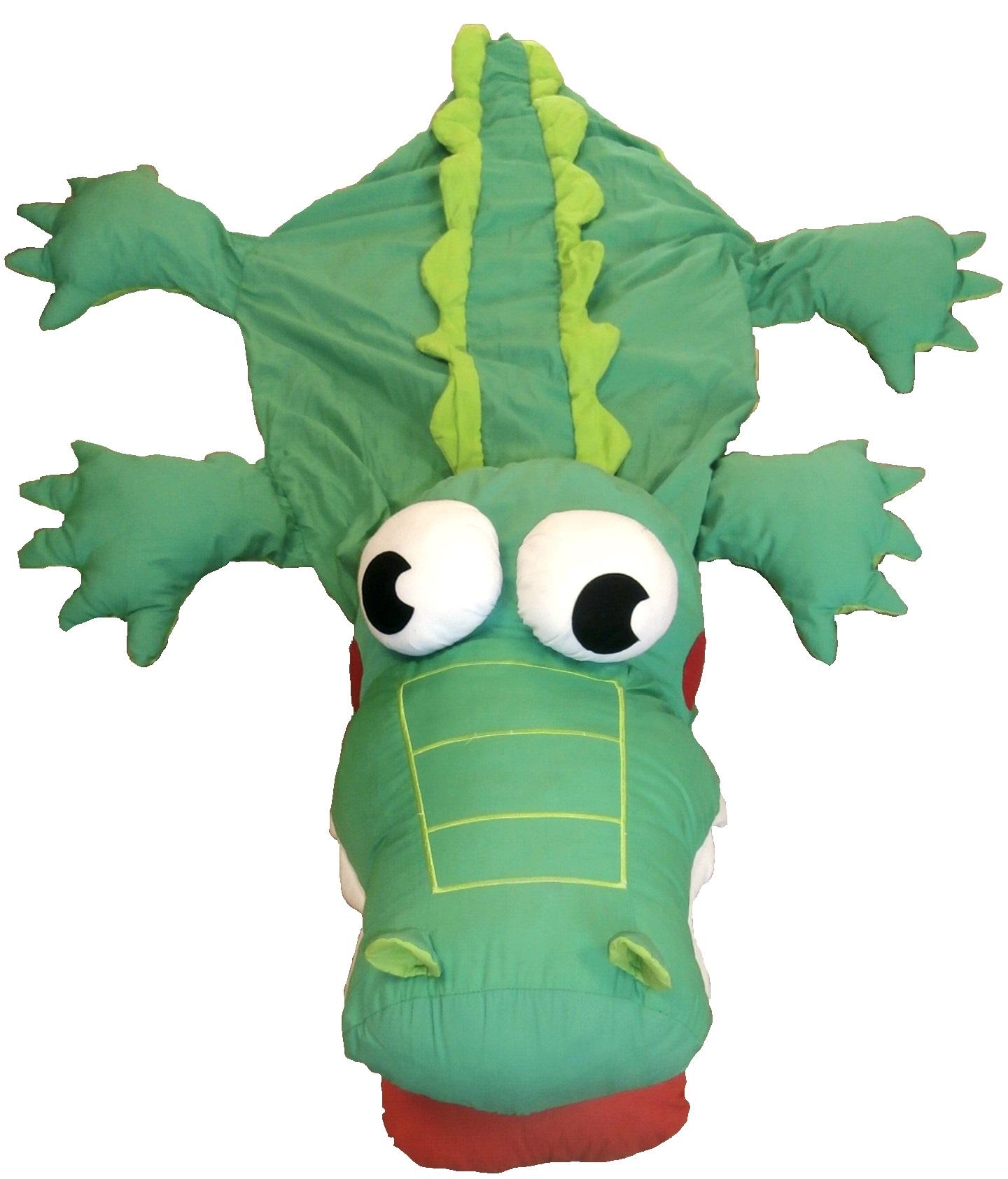 Coussin crocodile Image